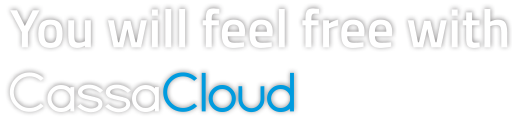 You will feel free with CassaCloud
